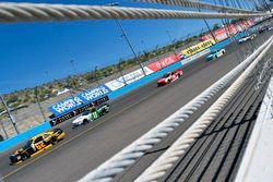 Brendan Gaughan, Richard Childress Racing, Chevrolet; Blake Koch, Kaulig Racing, Chevrolet