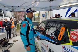 Andrea Nucita, Marco Vozzo, Skoda Fabia R5, Phoenix Racing al parco assistenza