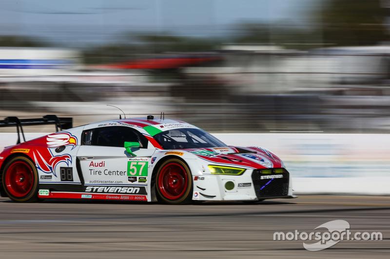 7. GTD: #57 Stevenson Motorsports, Audi R8 LMS GT3