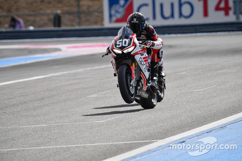 19. #50 Team April Moto Motors Events, Honda: Matthieu Lagrive, Gregory Fastre, Baptiste Guittet