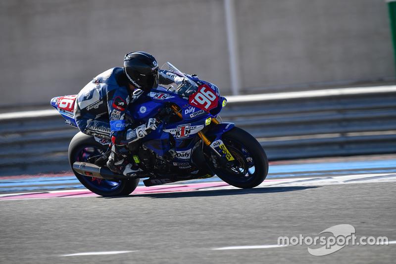 #96 Moto Ain CRT, Yamaha: Christophe Ponsson, Julien Millet, Alejandro Medina