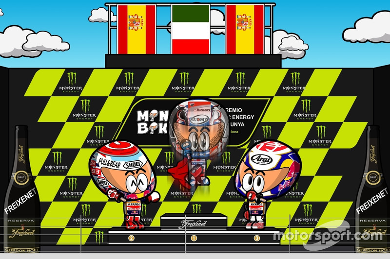 El GP de Catalunya 2017 de MotoGP según 'MiniBikers'