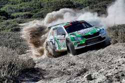 Ole Christian Veiby,Stig Rune Skjaermoen, Printsport Skoda Fabia R5 WRC2