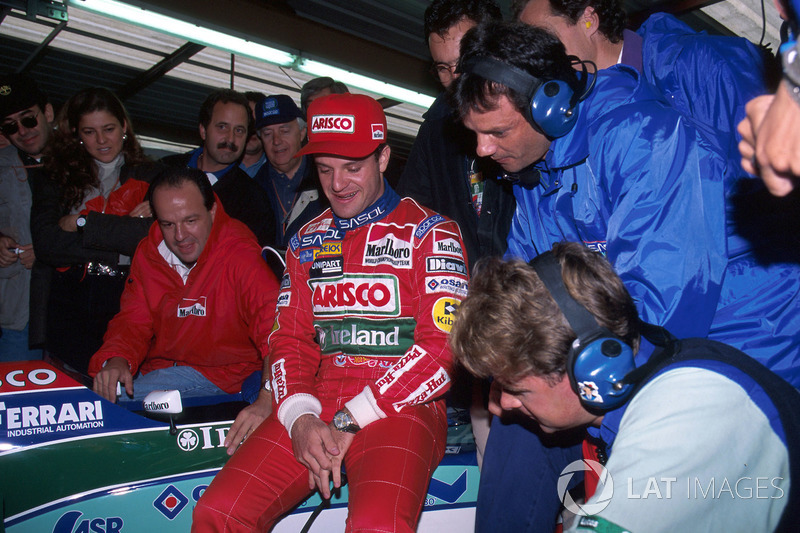 Rubens Barrichello (Jordan): 22 años, 3 meses y 5 días