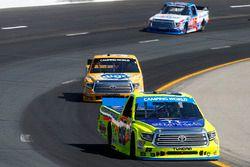 Matt Crafton, ThorSport Racing Toyota, Todd Gilliland, Kyle Busch Motorsports Toyota