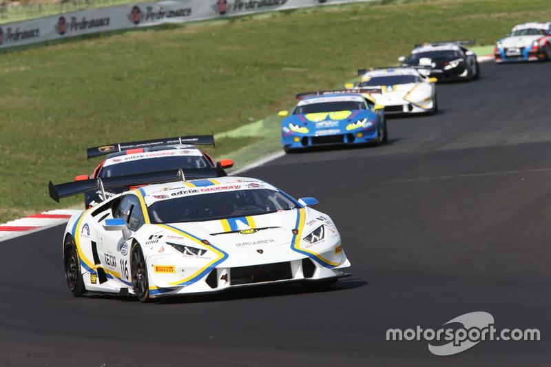 Lamborghini Huracan, S.GTCup #116, Vincenzo Sospiri Racing: Cazzaniga-D'amico