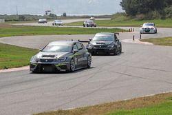 #19 Çağlayan Çelik, Seat Leon TCR, Toksport WRT, #12 Galip Atar, Seat Leon TCR, Toksport WRT