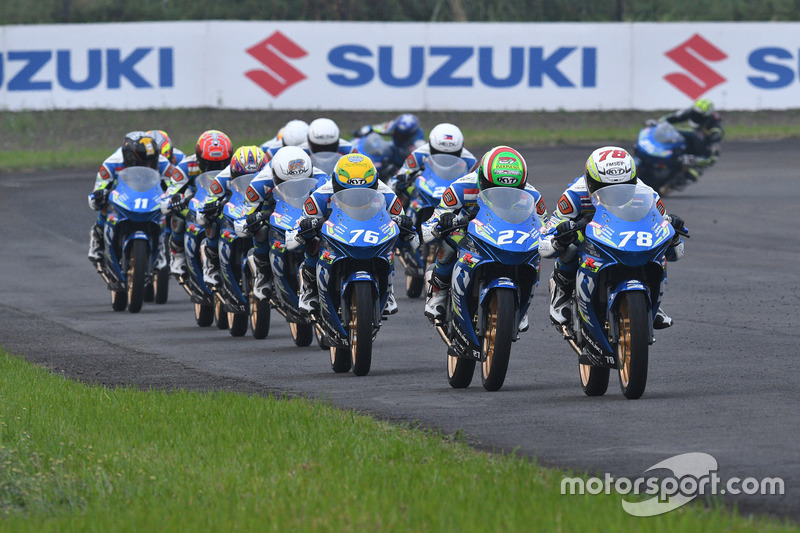 Race 1 Suzuki Asian Challenge di ARRC Indonesia 2017