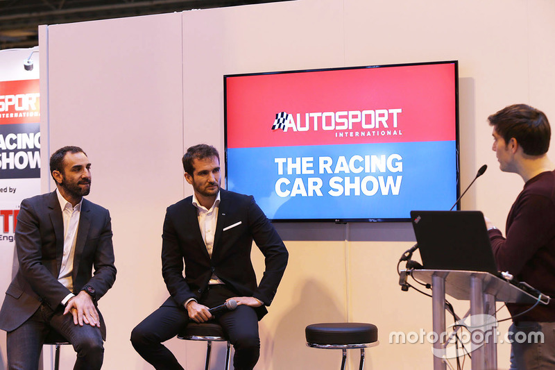Cyril Abiteboul, Gerente director de Renault Sport F1 Team, Tommaso Volpe, Infiniti Global Director