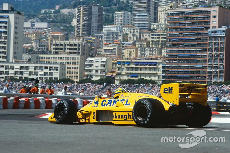 1987 Ayrton Senna, Lotus