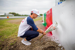 Pierre Gasly omaggia Jules Bianchi