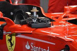 Il volante della Ferrari SF70H