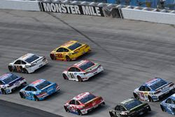 Лэндон Кэссилл, Front Row Motorsports Ford и Райан Блэни, Wood Brothers Racing Ford