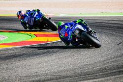 Андреа Янноне и Алекс Ринс, Team Suzuki MotoGP