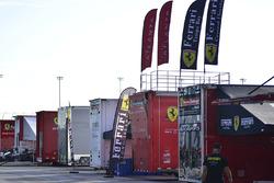 Ferrari Challenge camiones