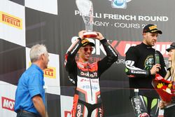 Second place Marco Melandri, Ducati Team