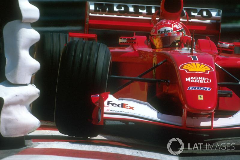 15. 2001 – Михаэль Шумахер, Ferrari (72,4%)