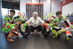 Luca Marini, Forward Racing; Lorenzo Baldassarri, Forward Racing, mit neuer Lackierung