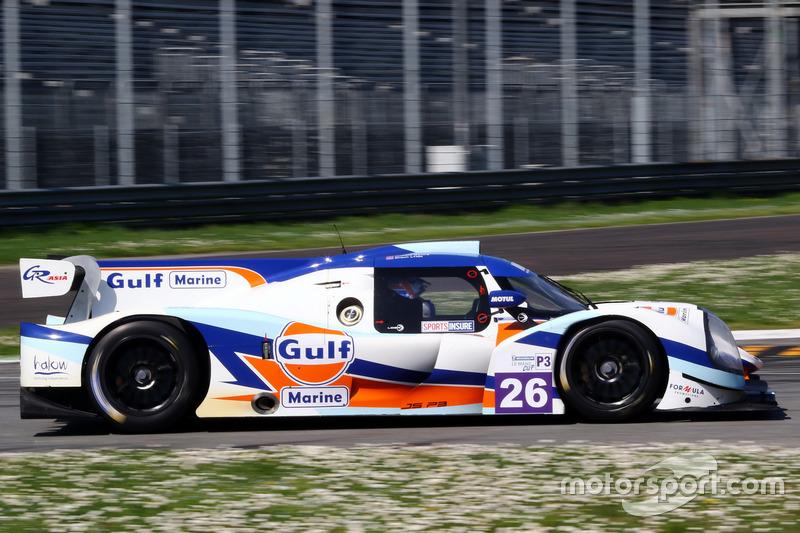 #26 United Autosports, Ligier JS P3 - Nissan: Richard Meins, Shaun Lynn