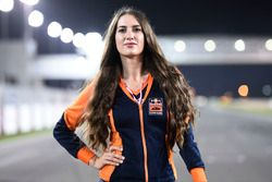 Hot Red Bull KTM Factory Racing girl