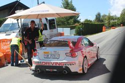 Lukas Eugster, Toyota GT86, Swiss Race Academy, Start
