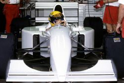 Ayrton Senna, McLaren MP4/8 fitted with a Chrysler/Lamborghini V12 engine