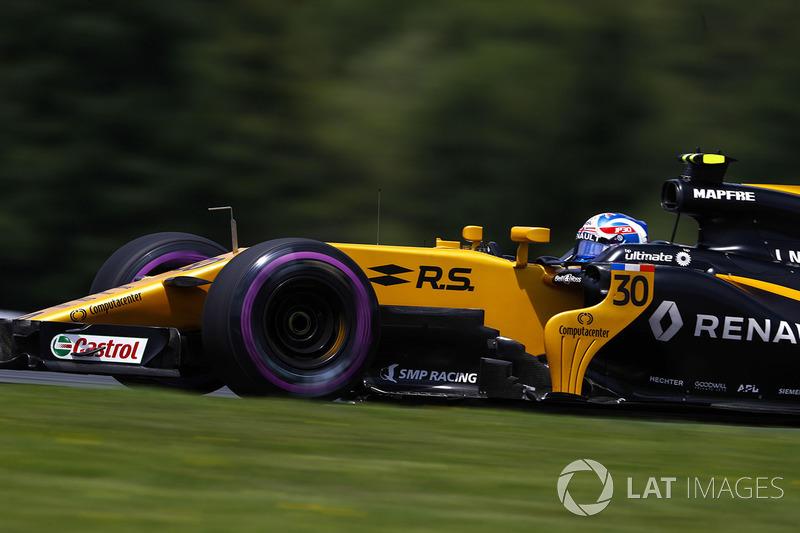 Gewinner: Jolyon Palmer (Renault)