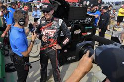 Kyle Busch, Joe Gibbs Racing Toyota entrevista por NBC