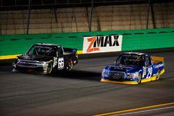 Ross Chastain, Bolen Motorsports Chevrolet and Chase Briscoe, Brad Keselowski Racing Ford