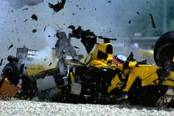 El choque de Takuma Sato, Jordan Honda