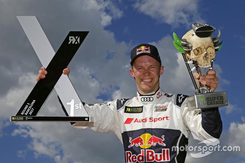 Race winner Mattias Ekström, EKS, Audi S1 EKS RX Quattro