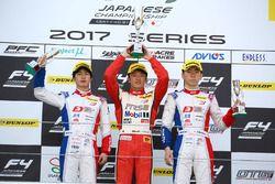 FIA-F4第4戦富士 表彰台