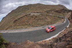 35 KUPEC Karel (CZE), KRAJCA Ondrej (CZE), Peugeot 208 R2,