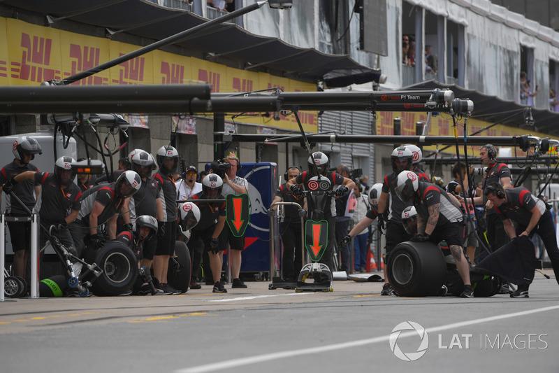 Mechaniker: Haas F1 Team