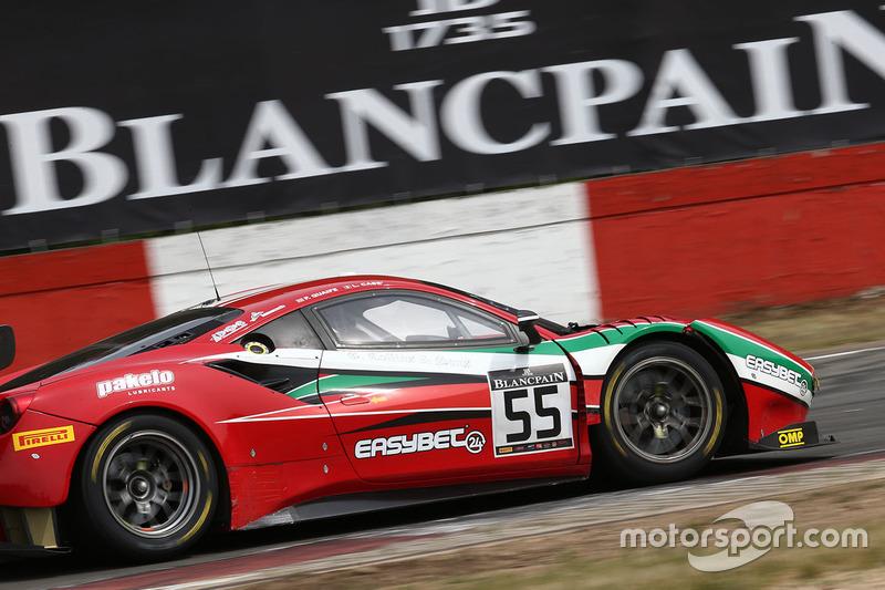 #55 AF Corse, Ferrari 488 GT3: Phil Quaife, Lorenzo Case