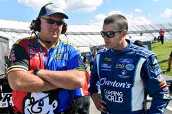David Ragan, Front Row Motorsports Ford, Derrick Finley