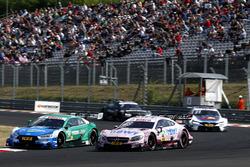 Лоик Дюваль, Audi Sport Team Phoenix, Audi RS5 DTM, и Эдоардо Мортара, Mercedes-AMG Team HWA, Merced