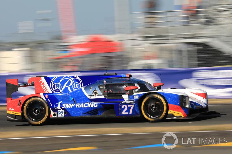 Сергей Сироткин (SMP Racing №27, LMP2) – 16-е место в LMP2 и 33-е в абсолюте