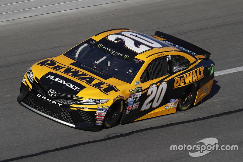 Unfall: Matt Kenseth, Joe Gibbs Racing, Toyota