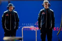 Franz Tost, Scuderia Toro Rosso Team Principal, Ben Waterhouse, Scuderia Toro Rosso