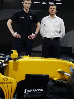 Sergey Sirotkin, derde rijder Renault Sport F1 Team RS17