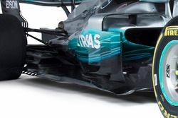 Mercedes AMG F1 W08, deviatori di flusso