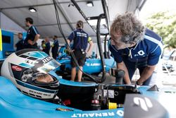 Nicolas Prost, Renault e.Dams with Alain Prost
