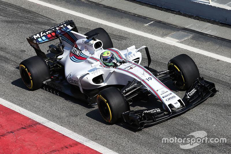 8e : Williams FW40