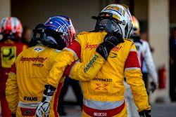 Mitch Evans, Pertamina Campos Racing en GP2 Series vicekampioen Antonio Giovinazzi, PREMA Racing