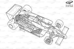 Подробная схема Lotus 79 1979 года