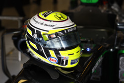Le casque de Jenson Button, McLaren