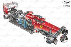 Ferrari F2012 3/4 stripped down view
