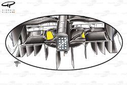 Williams FW31 2009 diffuser hole