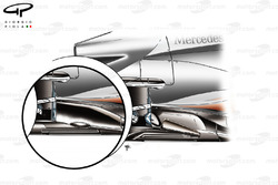 Echappement de la McLaren MP4-26